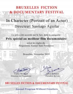 premio Bruselas: mejor documental